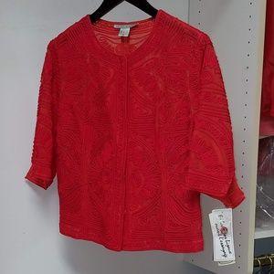 Peter Nygard Red Jacket